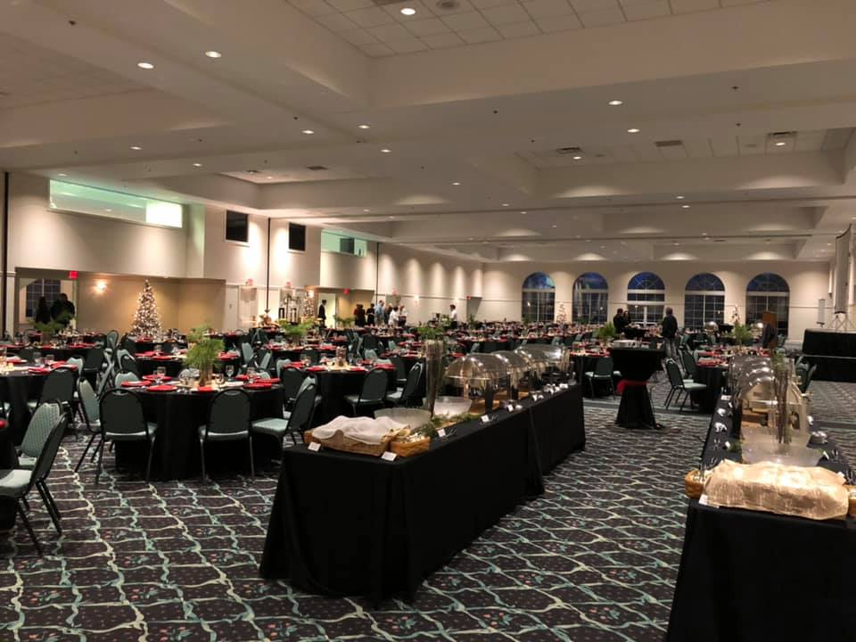ballrooms, food, events, greystone event center